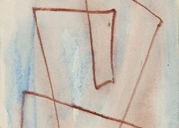 Sketch for Labyrinth no-301